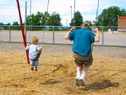 chool_playground_swings_father_son_child_teach