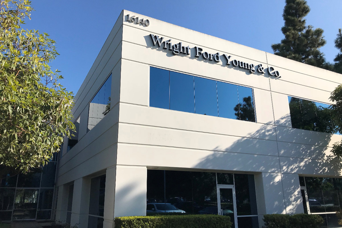 Who We Are | Wright Ford Young & Co. in Irvine, Orange County, CA