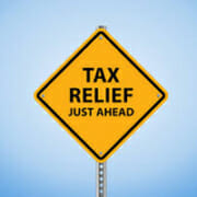 sales tax relief